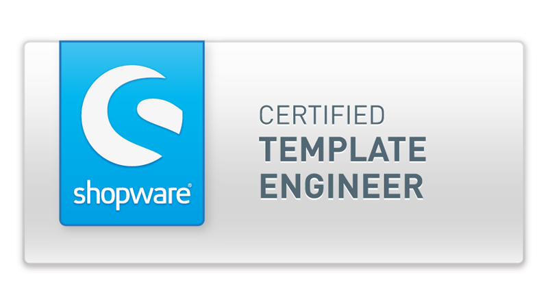 Shopware Zertifizierter Template Engineer Münster